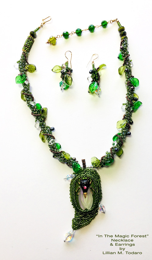 In The Magic Forest Necklace by Lillian M. Todaro
